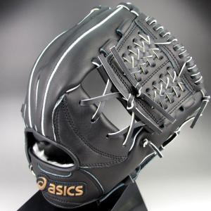 アシックス Asics ソフトボール用グラブ ダイブ オールラウンド用 ブラック 右投げ BGS5BM-90LH kasukawa