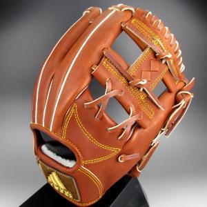 2016年モデル アディダス Adidas 一般硬式内野手用 二塁手 右投げ BBグラブ アディダス プロフェッショナル BID43(AO1442)バーントシエナ F15|kasukawa