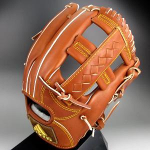 2016年モデル アディダス Adidas 一般硬式内野手用 三塁手 右投げ BBグラブ アディダス プロフェッショナル BID44(AO1447)バーントシエナ F15|kasukawa