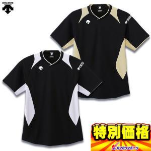 デサント バレーボール 半袖プラクティクシャツ DVB-5521|kasukawa