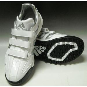 2010年秋冬モデル アディダス adidas JP トレーナーIII トレーニングシューズ G24019 ランニングホワイト×メタリックシルバー×メタリックシルバー