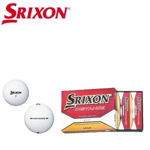 スリクソン ゴルフボール ディスタンス 1ダース(12球)