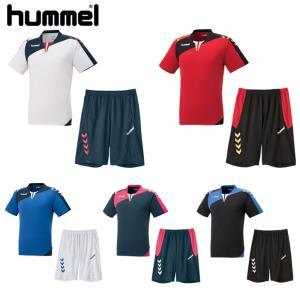 2017年モデル ヒュンメル Hummel Tスーツ プラクティスシャツ&パンツセット HAP1130SP 5色展開 kasukawa