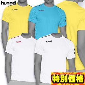 ヒュンメル サッカーウェア ワンポイント ドライTシャツ 半袖 HAY2078 八色展開|kasukawa