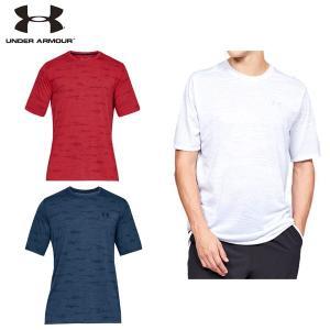 UAスレッドボーンプリントショートスリーブ トレーニング Tシャツ メンズ ランニング アンダーアーマー kasukawa