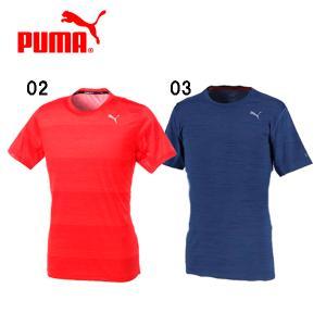 ランニングにオススメのメンズサイズの半袖Tシャツです。 吸汗速乾機能のdryCELLを搭載し、肌スト...
