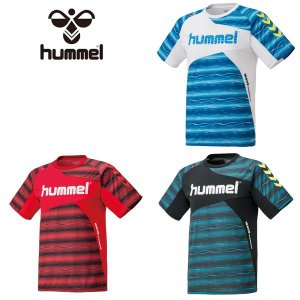 ヒュンメル ジュニア プラクティス シャツ サッカー ウェア Tシャツ|kasukawa