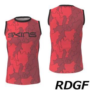 skins スキンズ 総柄スキンフィットノースリーブシャツ ランニング・トレーニング|kasukawa|03