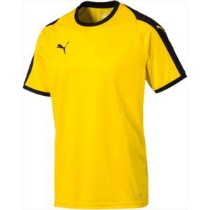 PUMA(プーマ) 男女兼用 サッカー・フットサルウェア LIGA ゲームシャツ 07CYBERYELL|kasukawa