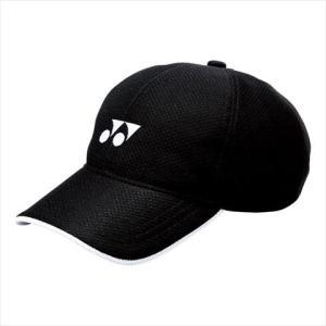 Yonex(ヨネックス) 男女兼用 メッシュキャップ(ユニ) ブラック カスカワスポーツ
