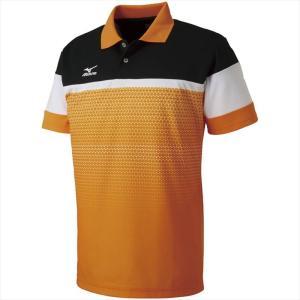 MIZUNO ミズノ ゲームシャツ 53:ポップオレンジ カスカワスポーツ