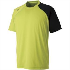 MIZUNO ミズノ Tシャツ 37:ライムグリーン カスカワスポーツ