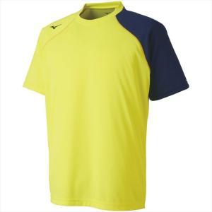 MIZUNO ミズノ Tシャツ 44:セーフティーイエロー カスカワスポーツ