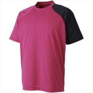 MIZUNO ミズノ Tシャツ 64:ベリーピンク カスカワスポーツ