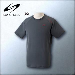エスエスケイ SSK メンズ機能Tシャツ半袖 吸汗速乾DRYBODY NIGHT RUNNER NTR721T 4色展開|kasukawa|06