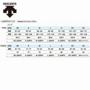 デサント ウィンドブレーカー 厚手 裏トリコット 上下セット ムーブスポーツ 2018年秋冬モデル DMMMJF34 DMMMJG34|kasukawa|03