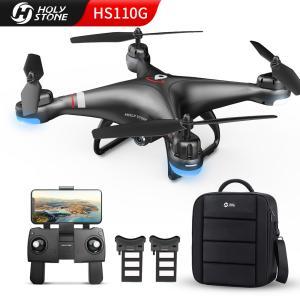 【収納バッグ付き】 Holy Stone HS110G ドローン 200g未満 GPS搭載 カメラ付き 1080P 広角HDカメラ バッテリー2個付き 最大飛行時間26分 高度維持 国内認証済み