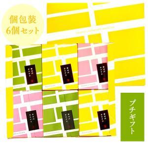 (退職 お礼 挨拶 父の日) お菓子 詰め合わせ 長崎カステラ 個包装 6個 セット (プチギフト プレゼント スイーツ 和菓子) TK20x6|kasutera1ban