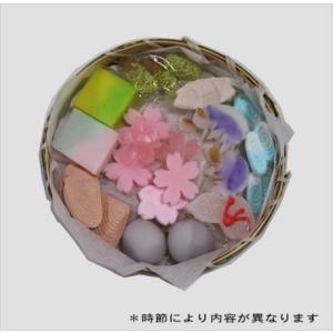 干菓子籠セット 冨久ろ屋|kataharamachi