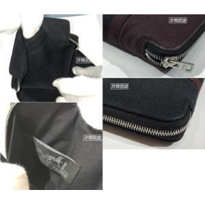 エルメス フールトゥ ファスナー財布 パースPM パープル×黒|kataoka78|03