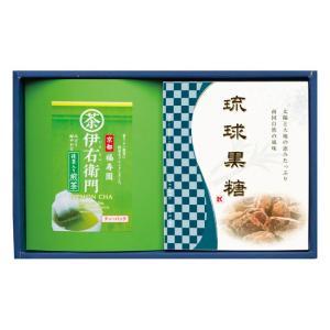 京都福寿園伊右衛門シリーズの詰め合わせギフト。 黒糖は、煎茶のお茶請けとして相性ぴったりで、どなたに...