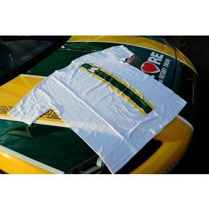カタヤマレーシングTシャツ 白 S|katayamaracing