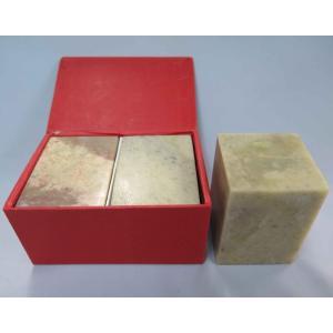 青田石 優質 5.0×H7.0cm(2本/箱)|kato-trading2