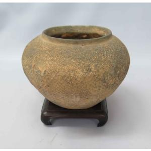 WF-03 西晋・紋罐 Φ13.7×H9.0cm kato-trading2