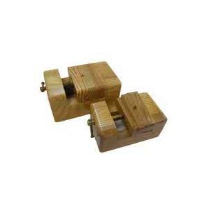 印床(欅)ねじ式 大12.9×8.3×H6.2cm|kato-trading2