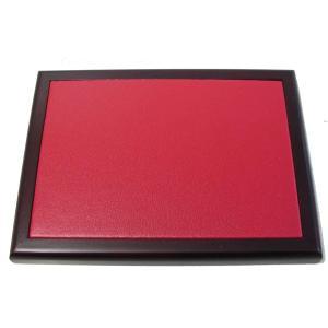 印褥深紅色花梨木製 17.0×12.5cm|kato-trading2