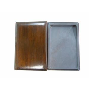 DS-10 長方淌池宋坑端硯(10インチ) 木箱入り|kato-trading2