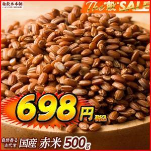 絶品 赤米 500g 定番サイズ 厳選国産 送料無料 ポスト投函|katochanhonpo