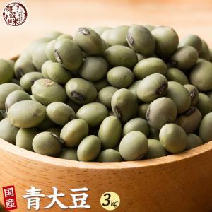 米 雑穀 雑穀米 国産 青大豆 3kg(500g x6袋) 送料無料 雑穀米本舗|katochanhonpo