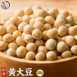 雑穀 黄大豆 100g 大豆 生豆 国産 お試しサイズ 送料無料|katochanhonpo
