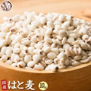 絶品 はと麦 10kg (500g x 20袋) 業務用サイズ 厳選国産 送料無料|katochanhonpo