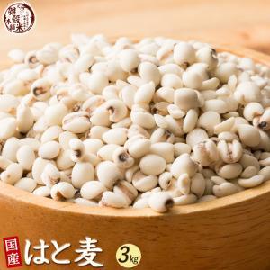 米 雑穀 麦 国産 はと麦 3kg(500g x6袋) 送料無料 厳選 ハトムギ 雑穀米本舗|katochanhonpo