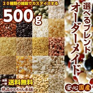 雑穀 こだわりカスタム雑穀米 オーダーメイド雑穀ブレンド 500g 送料無料|katochanhonpo