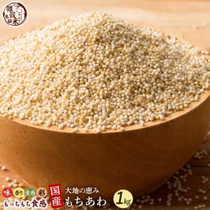 米 雑穀 雑穀米 国産 もちあわ 1kg(500g x2袋) 送料無料 雑穀米本舗|katochanhonpo