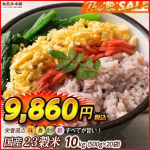 雑穀 栄養満点23穀米 10kg (500g×20袋) 国産 業務用 送料無料|katochanhonpo