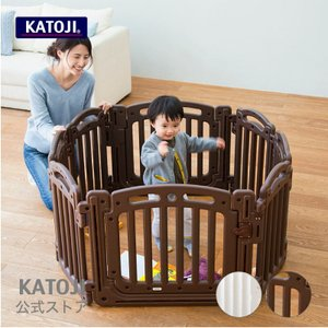 KATOJI(カトージ) 2ドアサークル ホワイト/ブラウン