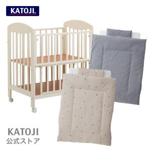 KATOJI カトージ ミニベビーベッド ハイタイプ プチバニラとミニ布団のセット  選べる4柄|katoji