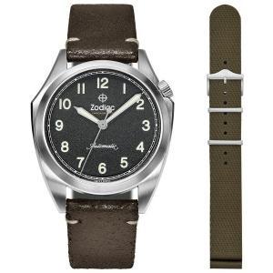 1970年代に英国軍用時計として開発、製作されながらも、制式採用されなかったZODIAC【ゾディアッ...