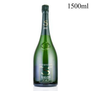 2002 サロン Salon マグナム 1500ml (正規品/ギフト箱) (フランス シャンパン スパークリングワイン 泡)