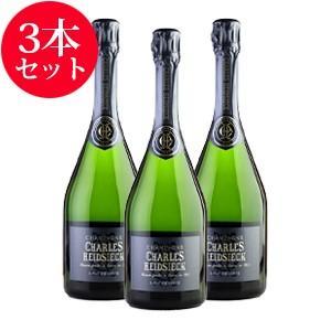 シャンパン 3本 セット NV シャルル・エドシック ブリュット・レゼルヴ (フランス シャンパン ...