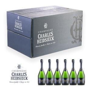 シャンパン 6本 セット NV シャルル・エドシック ブリュット・レゼルヴ (フランス シャンパン ...