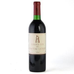 [1973] シャトー・ラトゥール (フランス ボルドー 赤ワイン)