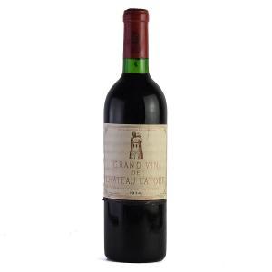 1974 シャトー・ラトゥール ※ラベル汚れ (フランス ボルドー 赤ワイン)