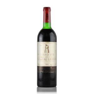 1979 シャトー・ラトゥール ※コルク沈み、ラベル不良 (フランス ボルドー 赤ワイン)