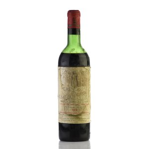 1962 シャトー・ラトゥール ※ラベル不良 (フランス ボルドー 赤ワイン)
