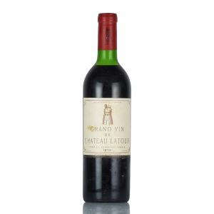 1970 シャトー・ラトゥール (フランス ボルドー 赤ワイン)